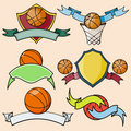 系列体育运动模板 免版税库存图片