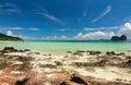 美丽的海在泰国 库存照片