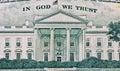 美国美元纹理 免版税库存照片