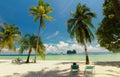 美好的海 和手段 免版税库存照片