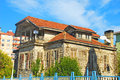 老房子在伊斯坦布尔 免版税库存图片