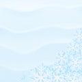背景多雪的冬天 库存照片
