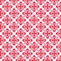 花卉模式粉红色 库存图片