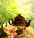 茶道。 免版税库存照片