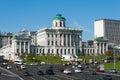莫斯科,俄罗斯  世纪的老豪宅 pashkov议院 目前,俄罗斯国家图书馆 免版税库存照片