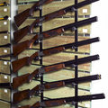 许多步枪 免版税库存照片