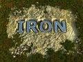 铁 免版税图库摄影