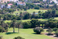 阿尔梅里雅almerimar costa course del golf西班牙 库存图片
