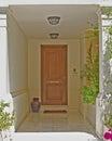 雅典希腊,房子入口 库存照片