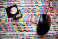 颜色管理预先压制打印生产 免版税库存照片