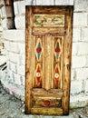дверь  еревни Стоковое Изображение RF