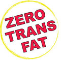0 Trans Fat Symbol Royalty Free Stock Photo