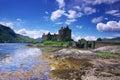 1 castle donan eilean Στοκ Εικόνες