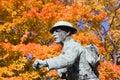 1 minnesmärke kriger Fotografering för Bildbyråer