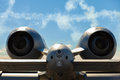 A-10 Thunderbolt jet airplane Royalty Free Stock Photo