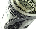100 dollar bill Royalty Free Stock Images