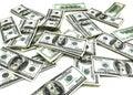 100 Dollar Bills Royalty Free Stock Photo