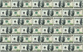 100 dollar bills background Royalty Free Stock Images