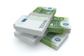 100 Euros money stack Royalty Free Stock Image
