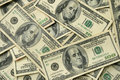 100 USA dollar bills Royalty Free Stock Image