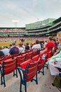 100 year old historic Fenway Park Royalty Free Stock Images