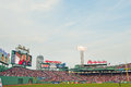 100 year old historic Fenway Park Royalty Free Stock Photography