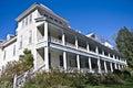 100 Year Old Mountain Inn Royalty Free Stock Photo