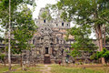 10th century Hindu Temple Ta keo Cambodia Stock Photo