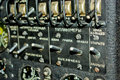 An-12 dashboard Royalty Free Stock Photo