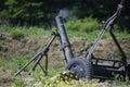 120 mm mortar Stock Photos