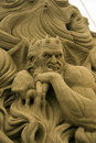 12th International Festival of Sand Sculptures Royalty Free Stock Photo