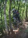13 mount skoku rowerów Fotografia Royalty Free