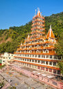 13 Storey Temple Haridwar Royalty Free Stock Photography