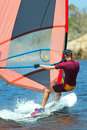 17 windsurfer Fotografia Royalty Free