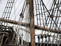 17th Century Galleon Detail Royalty Free Stock Photography