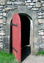 18th Century Doorway Royalty Free Stock Photos