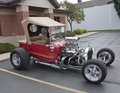 1923 Ford T-Bucket Side View Stock Image