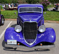 1930's Ford Coupe Stock Photography