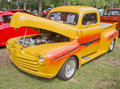 1948 Yellow Ford Pickup Stock Photos