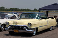 The 1955 Cadillac Coupe De Ville Royalty Free Stock Photography
