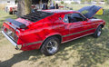 1969 Ford Mustang Mach 1 Royalty Free Stock Photography