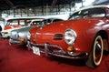 1969 Volkswagen Karmann Ghia Convertible Royalty Free Stock Photo