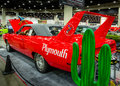 1970 Plymouth Road Runner Superbird Restoration Royalty Free Stock Photo