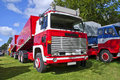 1979 truck scania lbs 141 Royalty Free Stock Photo