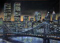1986 Manhattan painting