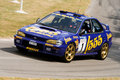 1996 subaru impreza wrc rally car Stock Images