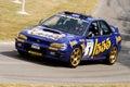 1996 subaru impreza wrc rally car Royalty Free Stock Photo
