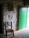19th cent Irish cottage Royalty Free Stock Photos