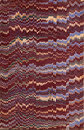 19th century marbled paper Royalty Free Stock Photo