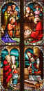 19th century stained glass Royalty Free Stock Photo
